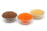 Red Lentils, Couscous, Flax seed