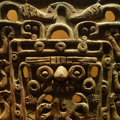 terre cuite mayas