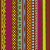 Color ornamental lines vector collection for design - 50845649