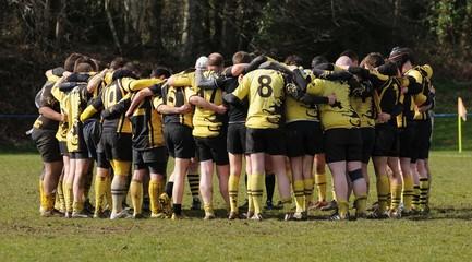 en cercle au rugby