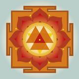 Durga Yantra vector illustration - 50846217