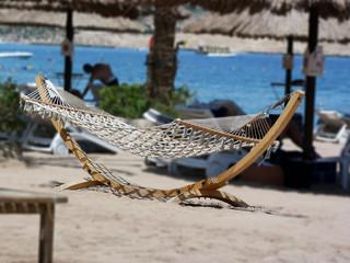 am Strand von Sinai