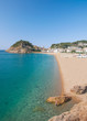 der beliebte Badeort Tossa de Mar an der Costa Brava