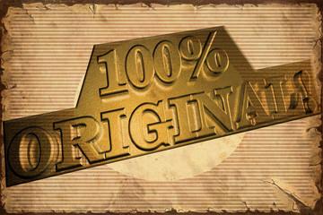 Retroplakat - 100 % Original
