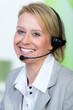 call-center mitarbeiterin