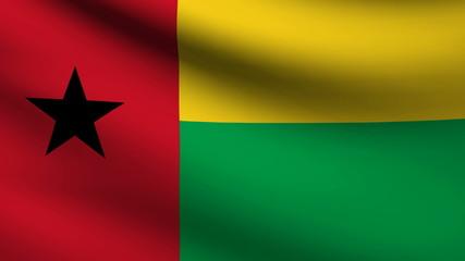 Guinea Bissau flag.