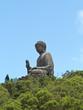 Bronze Buddha in HongKong