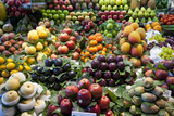 Varioud fruits and vegetables at market