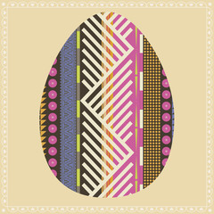 Ornamental easter egg