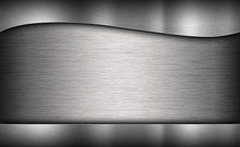 gray background of metal