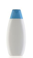 biały pojemnik na szampon
