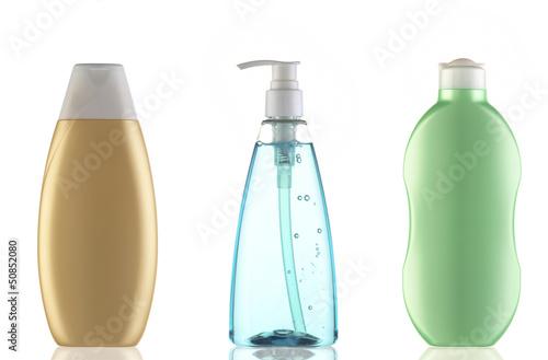 kolorowe pojemniki na kosmetyki