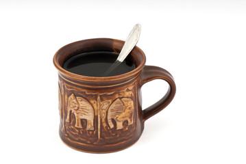 isolated tea