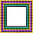 Cadre Multicolor_Carré