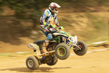 Detailed view od of rider in the quad jump - 50854613