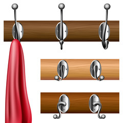 Coat rack set