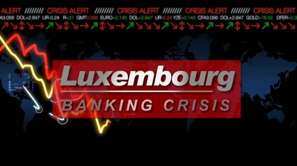 Luxembourg bank crisis euro financial animation video letzebuerg