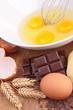 egg,chocolate and wheat