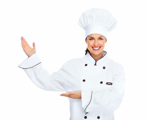 Chef woman.