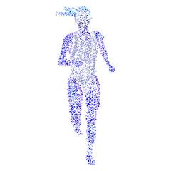 jogging vektor