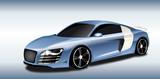 Auto Sportiva metallizzata Celeste - 50858045