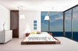 Modern Design Bed Room with seascape view