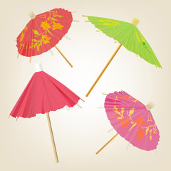 cocktail umbrella a