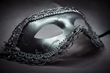 Silver Fantasy Mask