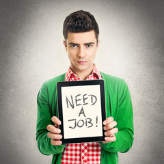 Young man needs a job