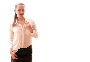 hübsches junges Model