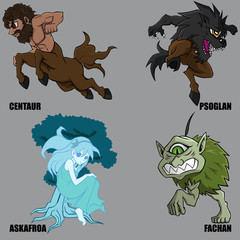 Mythical Creatures Set 22