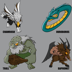 Mythical Creatures Set 21