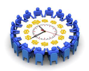 Время-деньги. Концепция принятия антикризисных решений