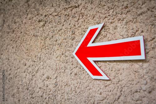 street sign arrow