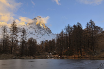 Matterhorn  or Cervino or Cervin (4,478 meters)