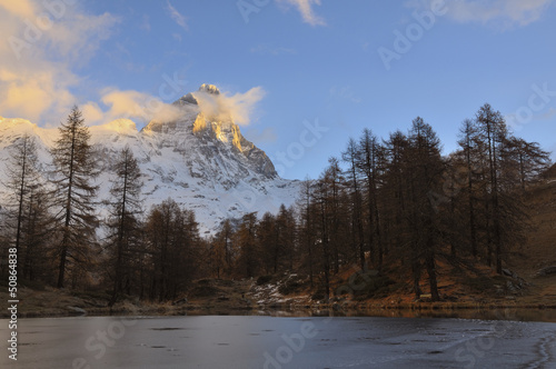 Fototapeten,berg,matterhorn,winter,alps