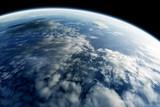 planeta ziemia z kosmosu