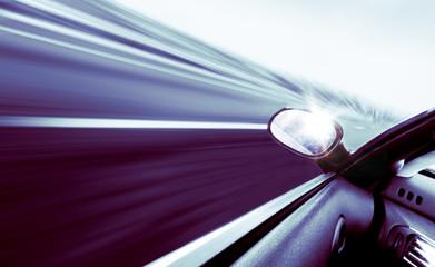concepto de velocidad y viajes