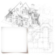 Template with architectural design elements