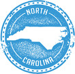 Vintage North Carolina USA State Stamp
