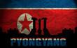 View of Pyongyang