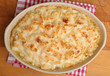 Macaroni Cheese in Casserole Dish