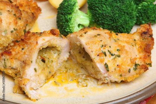 Chicken Kiev Dinner