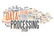 "Word Cloud ""Data Processing"""