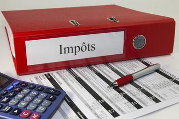 classeur impôts