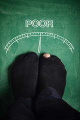 Poverty meter