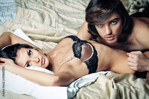 bedroom couple