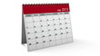 Folding 2013 Desktop Calendar with Alpha Channel