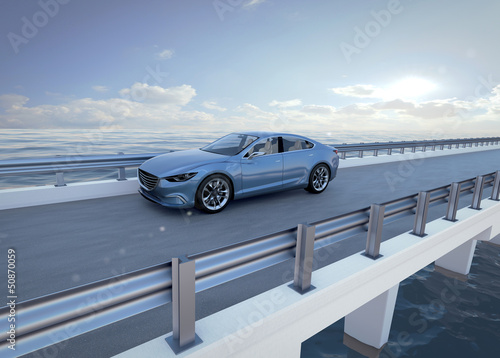 concept car bridge