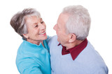 Portrait Of Senior Couple Dancing